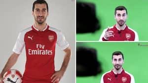 Arsenal Fans Think Video Shows Mkhitaryan Asking Aubameyang To Join Arsenal