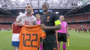 The Netherlands Pay Tribute To North Macedonia Striker Goran Pandev With The Classiest Of Gestures