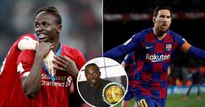 Sadio Mane's Dream Five-A-Side Team Stars Messi, Ronaldinho And El Hadji Diouf