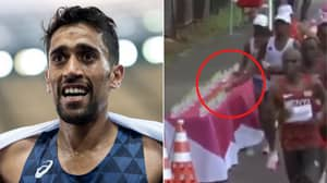 French Marathon Runner Who 'Knocked Over' Water Bottles Breaks His Silence Amid Cheat Claims