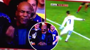 Mike Tyson Commentating On A Cristiano Ronaldo Goal Is The Best Thing You'll Watch