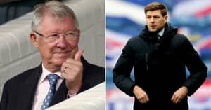 Sir Alex Ferguson Pinpoints How Steven Gerrard Has Mastered The Art Of Management At Rangers