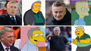 Fan Creates Thread Of Premier League Managers As Simpsons' Characters