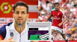 Cesc Fabregas Has Revealed His Premier League Fantasy Football Team