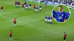 David Beckham's Last Ever Man United Goal Was On This Day In 2003 And It Was Utterly Sensational