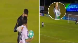 Peñarol Goalkeeper Kevin Dawson Invites Fan With Down Syndrome To Take Penalty After Game
