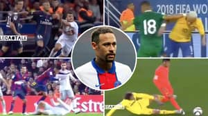 Neymar Video 'Proves' PSG Star Is Getting 'Assaulted' On Pitch As He Is Ruled Out Of Barcelona Clash