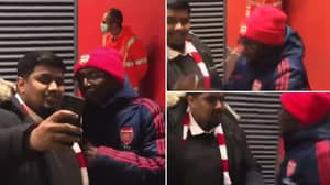 Arsenal Fan TV's Ty Loses His Cool After Row With Fan Posing For A Selfie
