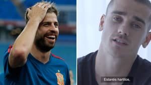 Gerard Pique Makes Series Of Confusing Tweets Following Conclusion Of Antoine Griezmann Saga