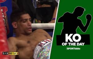 KO Of The Day: Breidis Prescott Annihilates Amir Khan In 54-Seconds
