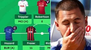 Fantasy Premier League Manager Captains Hazard And Vice-Captains Robertson