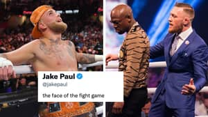 Jake Paul Copies Conor McGregor By Declaring Himself 'The Face Of The Fight Game'