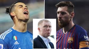 Paul Scholes Ends The Lionel Messi Vs Cristiano Ronaldo Debate Once And For All With Brilliant Verdict