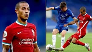 Liverpool New Boy Thiago Managed To Break A Premier League Record In Just 45 Minutes