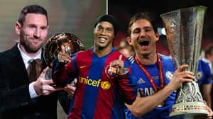 Ronaldinho Picked His All Time Champions League XI And It's Brilliant