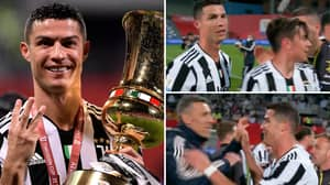 Incredible 8K Footage Of Cristiano Ronaldo Makes It Feel Like 'You're Standing Right In Front Of Him'