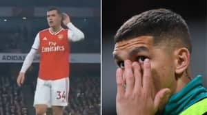 Lucas Torreira's Emotional Reaction To The Abuse Granit Xhaka Received After His Substitution
