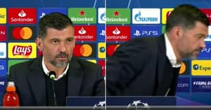 Shortest Press Conference Ever: No Questions For Porto Manager After Knocking Out Juventus