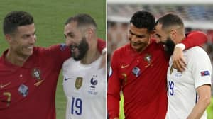 Karim Benzema Reveals Private Chat With Cristiano Ronaldo After Emotional On-Pitch Reunion