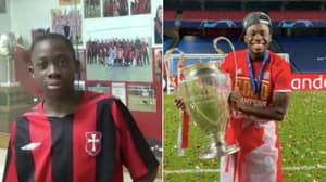 Alphonso Davies' Inspirational Journey From Refugee To Champions League Winner