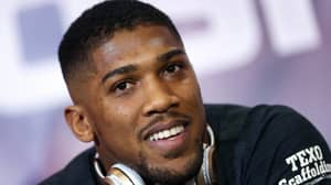 Anthony Joshua's Touching Gesture To His Son Ahead Of Tonight's Fight