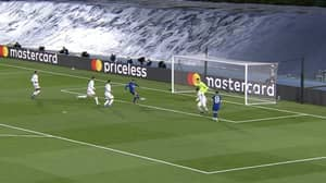 Timo Werner Missed From Four Yards Out Against Real Madrid