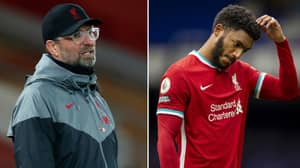 Liverpool Have Had 13 First-Team Players Injured Or Absent Due To COVID-19 This Season
