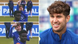 John Stones Brutally Mocks Italy Players In England Training Session Ahead Of Euro 2020 Final