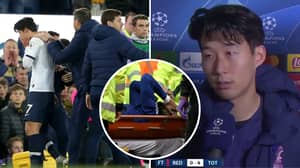 Emotional Son Heung-Min Opens Up About His Sadness After Andre Gomes' Injury