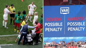 Referee In England Vs Cameroon Rejected Two VAR Decisions In Fear Of African Side Walking Off