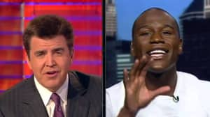 The Time Floyd Mayweather Lost His Head At Interviewer Live On Tv