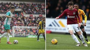 From YouTube To League Two: Scott Pollock Makes His Northampton Town Debut