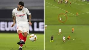 Ever Banega's Stunning Highlights For Sevilla Prove He Will Be A Danger For Man Utd