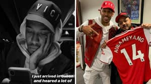 Pierre Emerick-Aubameyang Responds To Arsenal Trying To End His Friendship With AFTV's Troopz