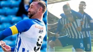 How Kris Boyd Celebrated After Scoring Against Aberdeen Is Hilarious