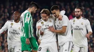 Real Madrid Posted Their Lowest Possession In A Game Since 2011