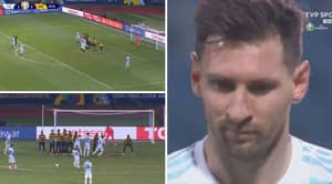 Lionel Messi Rolled Back The Years With A Stunning Free-Kick And Two Assists As Argentina Defeated Ecuador 3-0 In The Copa America Quarter-Final