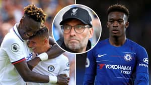 Jurgen Klopp Says Chelsea Trio Abraham, Mount And Hudson-Odoi Are Collectively Worth £180m