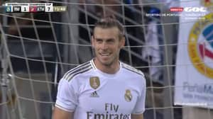 People Think Gareth Bale Was Laughing At Zinedine Zidane At 7-1 Down Against Atletico Madrid