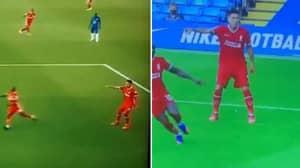 Liverpool Fans Claim Roberto Firmino Fooled Kepa For Sadio Mane Goal
