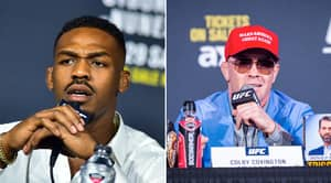 Jon Jones Hilariously Reacts To Colby Covington Win At UFC Fight Night