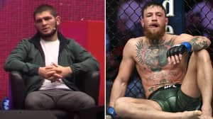 Khabib Nurmagomedov Won't Be Shaking Conor McGregor's Hand