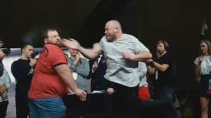 World Slapping Champion Gets Knocked Out For The First Time