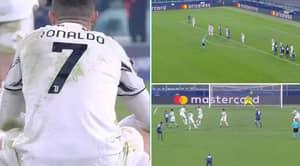 Cristiano Ronaldo Slammed For Allowing Porto Free-Kick To Knock Out Juventus