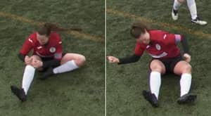 Scottish Footballer Dislocates Her Knee, Smacks It Back Into Place And Plays On