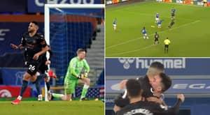 Riyad Mahrez Channels His Inner Arjen Robben And Cuts Inside To Score Sensational Goal