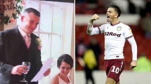 Groom Thanks Aston Villa Captain Jack Grealish Instead Of Wife During Wedding Speech