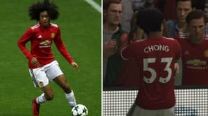 FIFA 18 Adds Wonderkid To Manchester United Squad On The Game