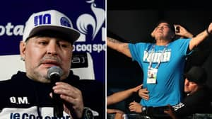 Diego Maradona Claims He Was Abducted By Aliens