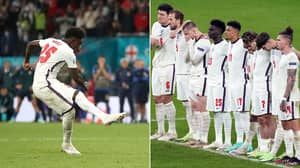 England Players 'Shocked' By Gareth Southgate's Decision To Give Bukayo Saka The Fifth Penalty